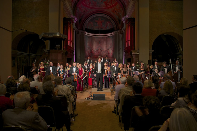 We host the annual Proms at St Jude's music and literary festival