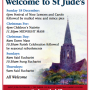 Welcome to St Jude's Service Times