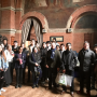 Architecture students from Kingston University visiting the church today.