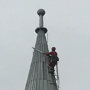 Steeplejack on the Spire 16 May 2017