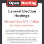 Election Hustings 5 June 2017
